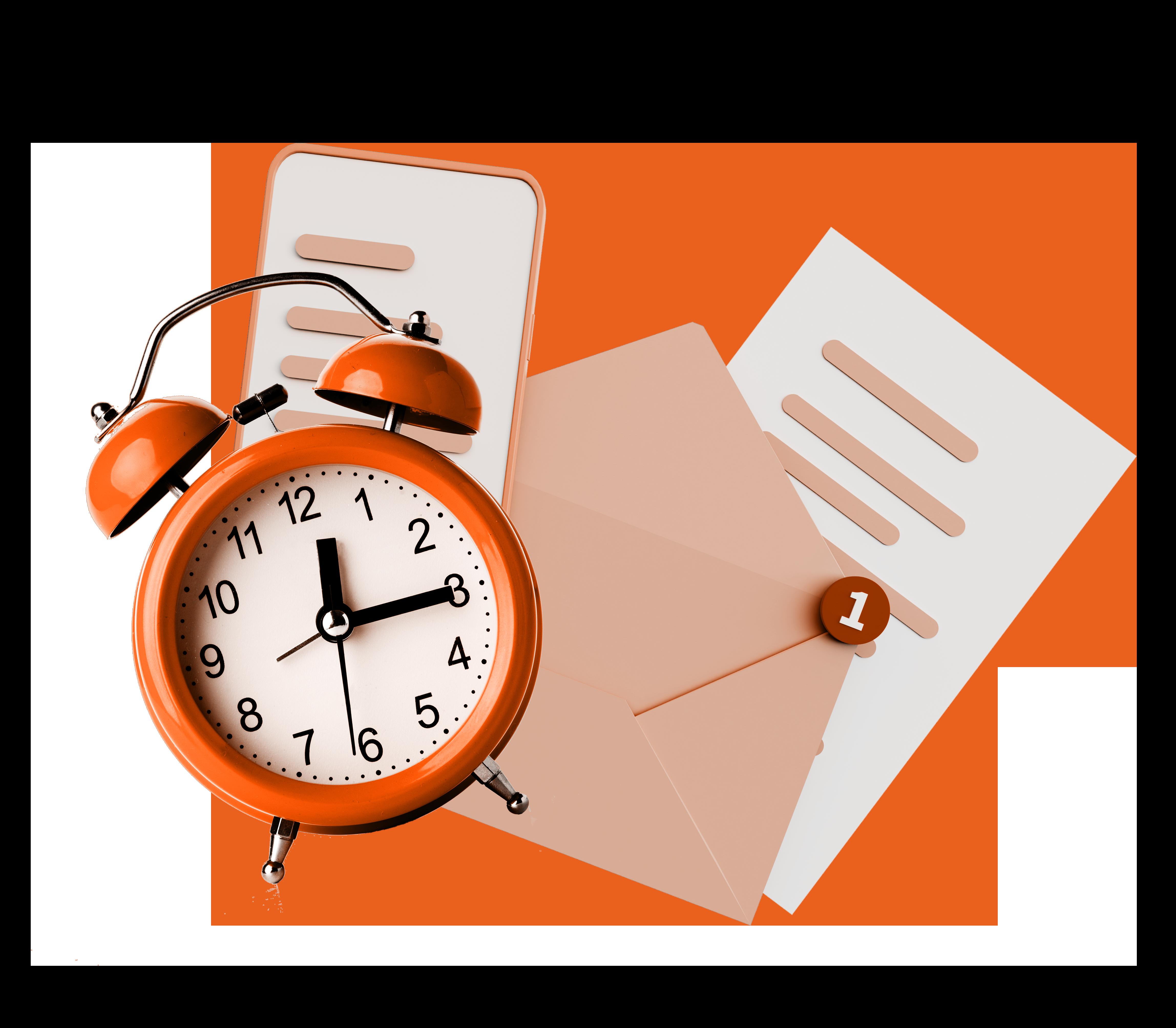 alarm-clock-white-background